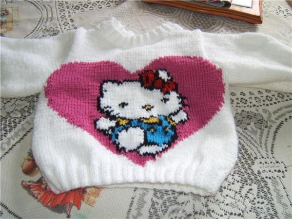 Patron tricot hello kitty gratuit - Modele hello kitty ...