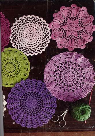 Mod le tricot napperon - Modele tapis crochet gratuit ...