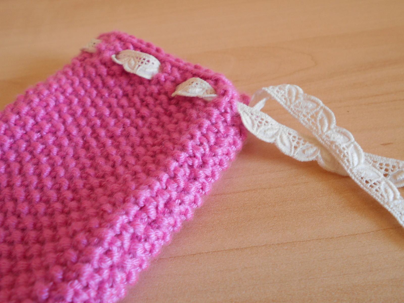 modele tricot chaussette portable