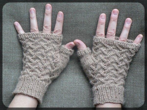 Mod le tricot mitaines gratuit - Modele mitaine tricot facile ...