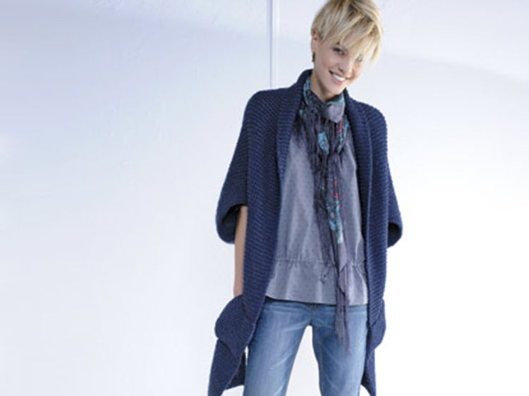patron tricot veste longue femme. Black Bedroom Furniture Sets. Home Design Ideas