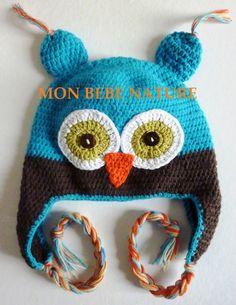patron tricot bonnet bébé rigolo afc601d8130