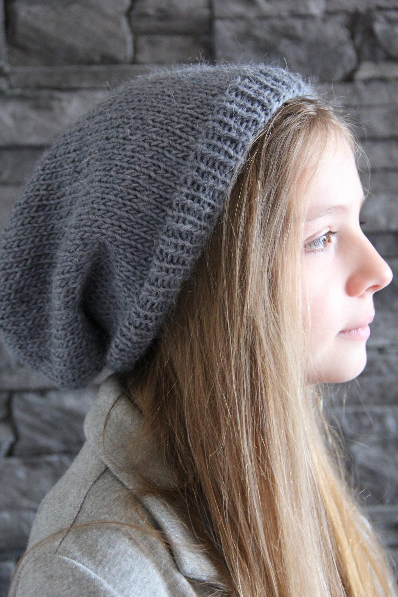tricoter un bonnet loose