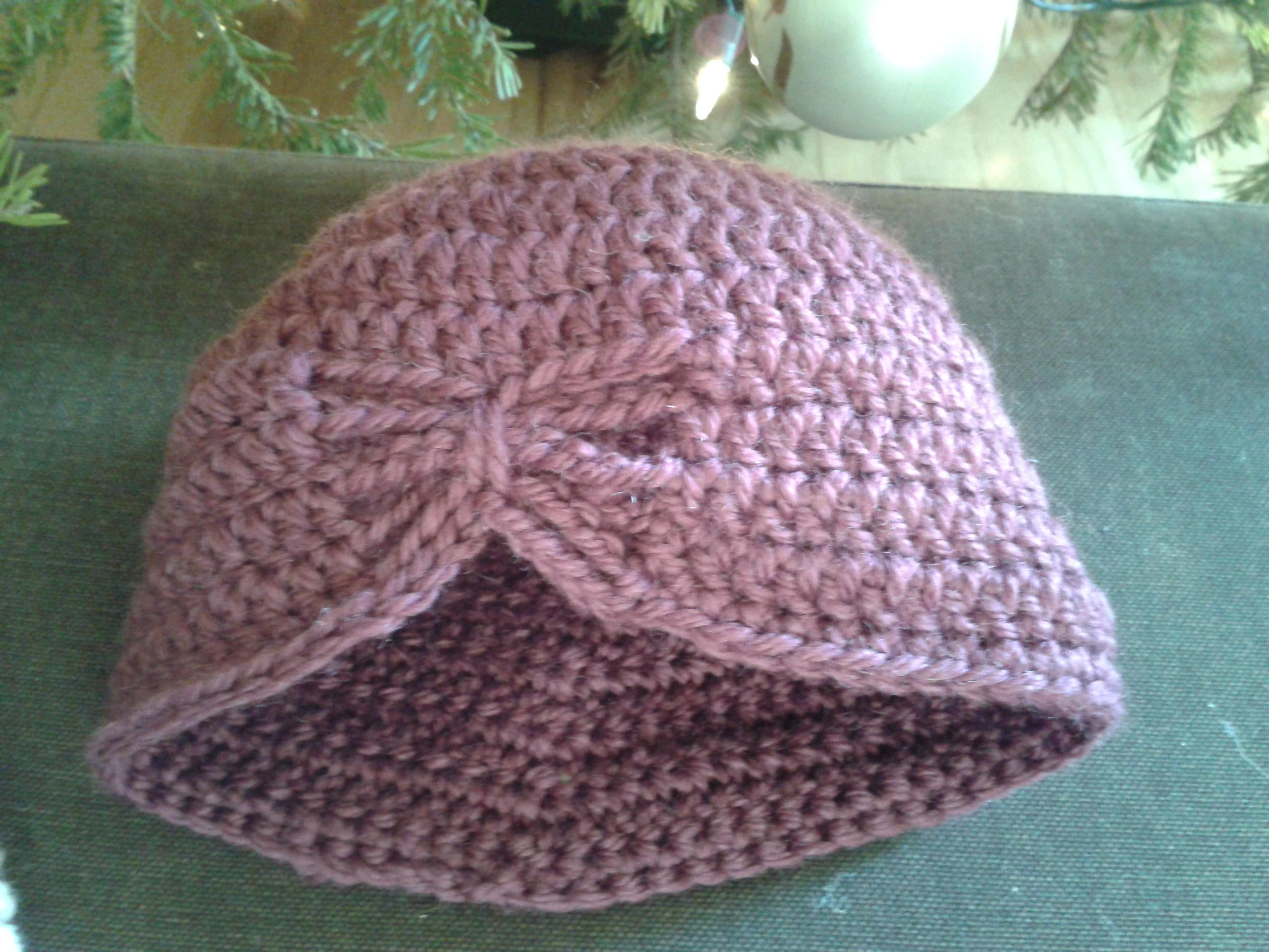 modele bonnet de bebe au crochet