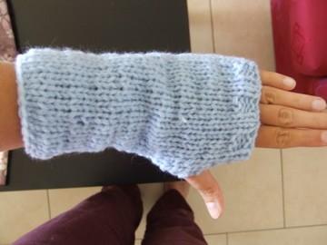 Tricoter un chausson de bébé , simple et facile:  faitenchiffon