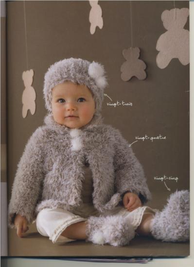 a073db04144 beau modèle tricot bonnet layette gratuit