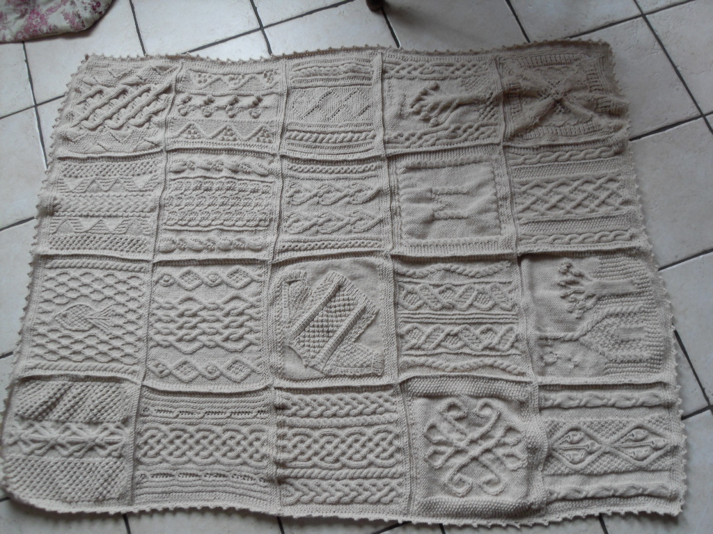 patron tricot afghan