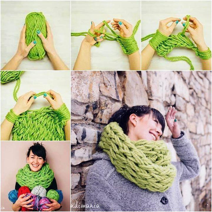 patron tricoter foulard infinity bbd1a874572