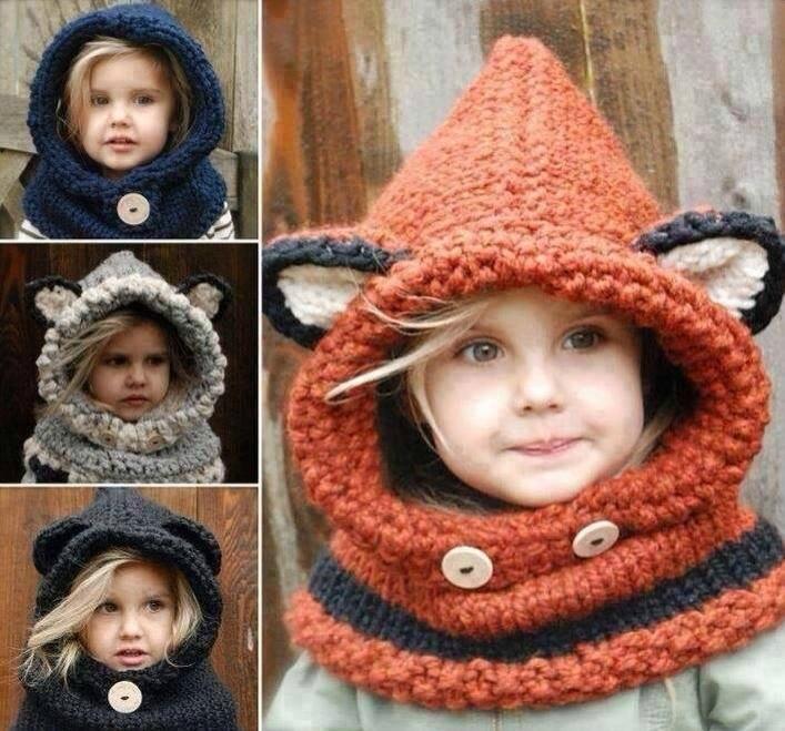 cliché modèle tricot bonnet avec oreille 5fccc9eb693