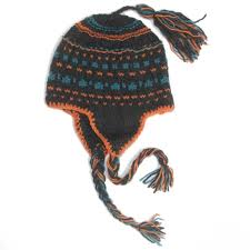 modèle tricot bonnet homme peruvien