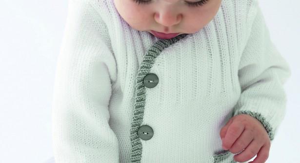 modèle tricot jaquette