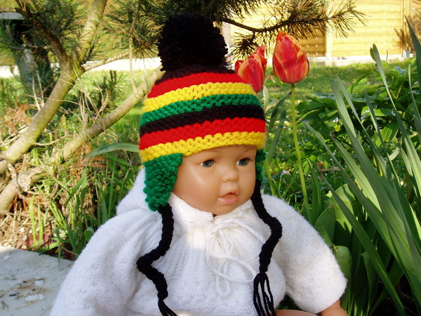 modèle tricot bonnet bob marley