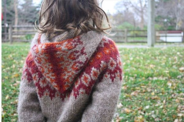 patron tricot jacquard