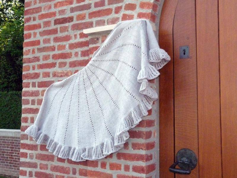 modele chale tricot debutant