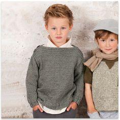 Où trouver un modèle de tricot gratuit pour un pull garçon en 4 ans ?