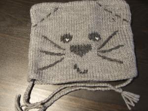 patron tricot bonnet bébé rigolo 74fbbdb4db7