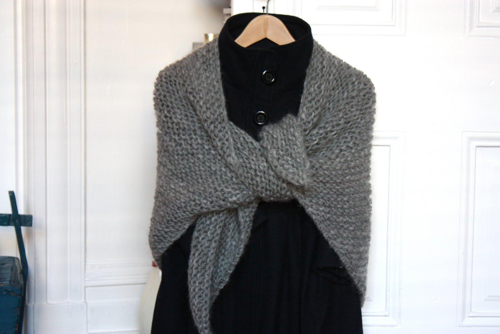 Mod le chale tricot debutant - Apprendre a tricoter debutant ...