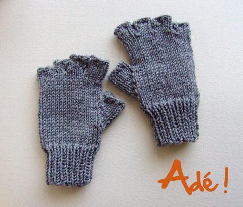 Modele tricot mitaines avec doigts - Comment tricoter des mitaines avec doigts ...