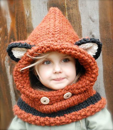 tricoter un bonnet rigolo