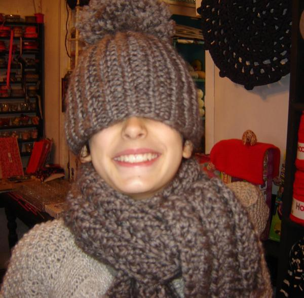 tricoter un bonnet ski