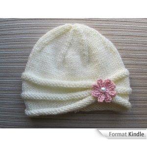 Modele tricot gratuit bonnet naissance - Modele de bonnet a tricoter facile ...