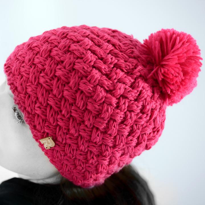 modele tricot bonnet de ski