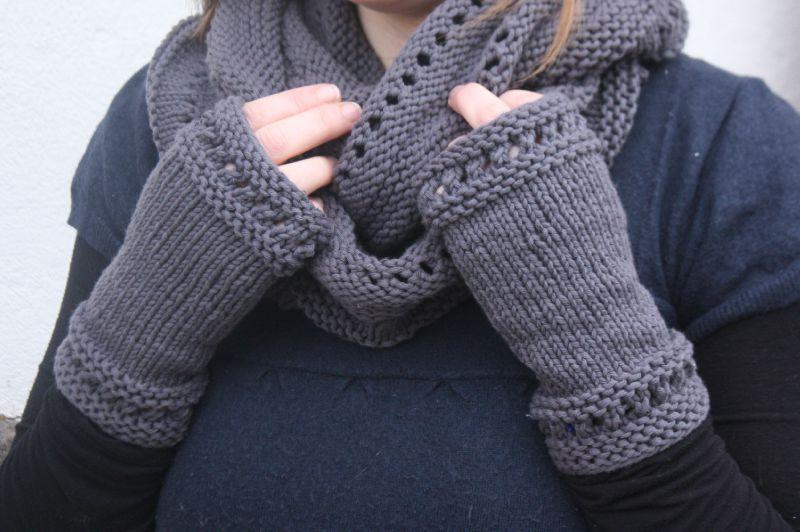 modele tricot mitaine gratuit