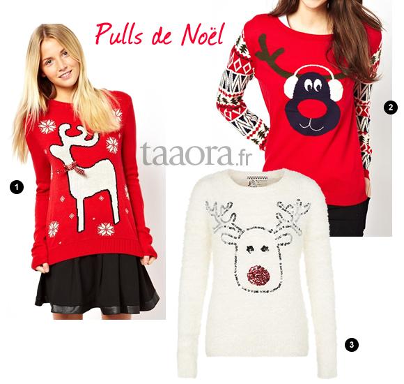Mod le tricot pull noel - Deco de noel a tricoter ...