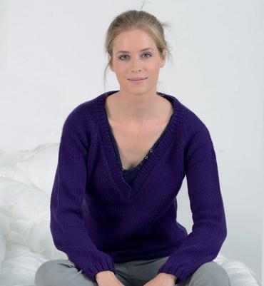 1ae9e416dea16 affichage patron tricot pull col v femme