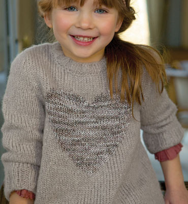 pull tricot fille