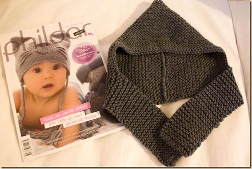 166503cbc2e aide modèle tricot echarpe bonnet bébé