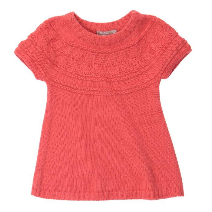 modèle tricot fillette gratuit