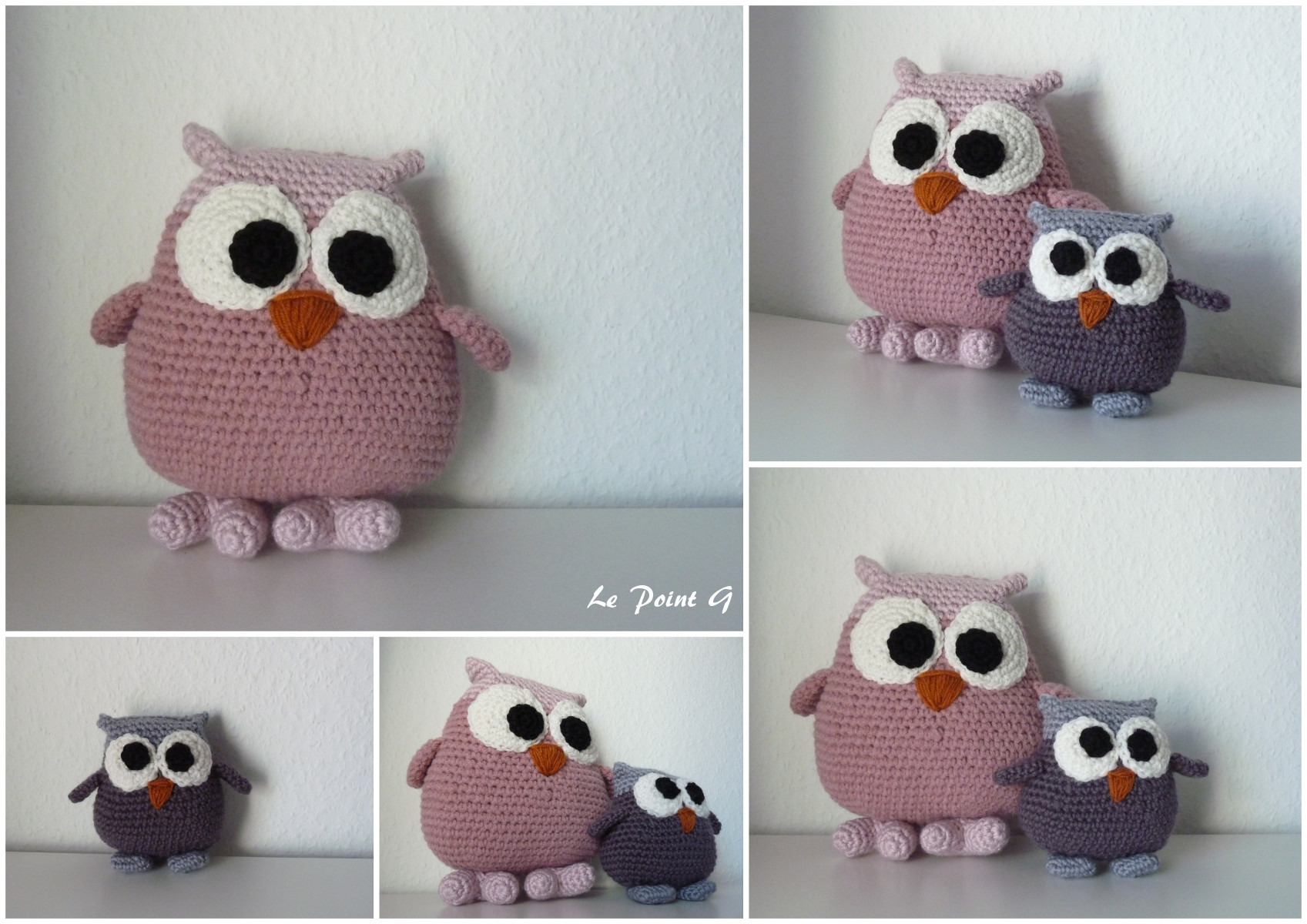 tricoter hibou
