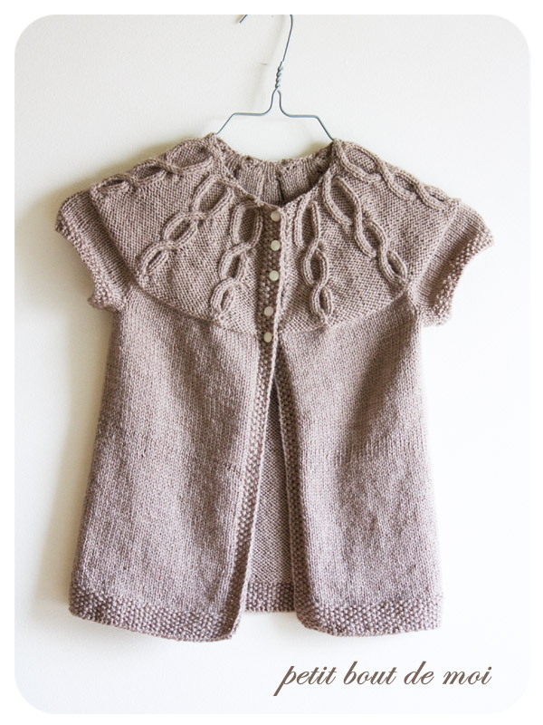 tricot fille 10 ans