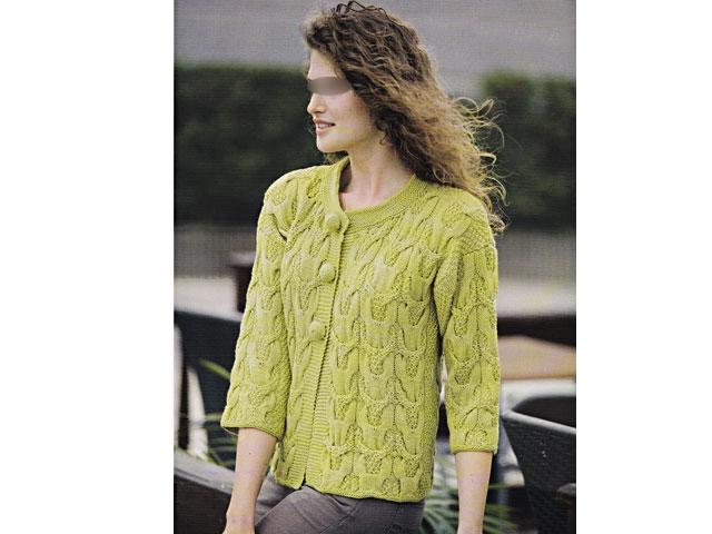 modèle tricot veste dame