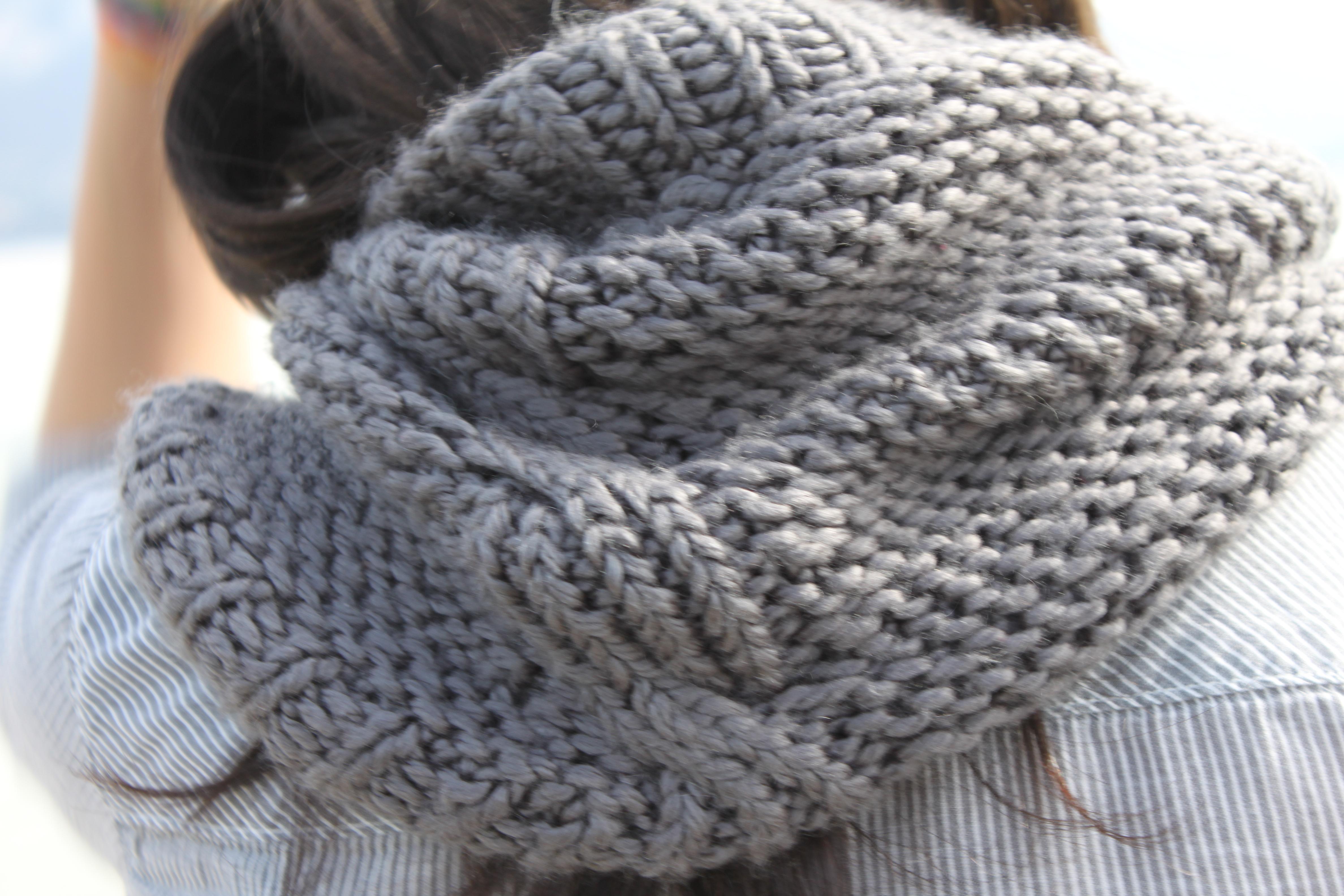 tricoter une echarpe aiguille 7