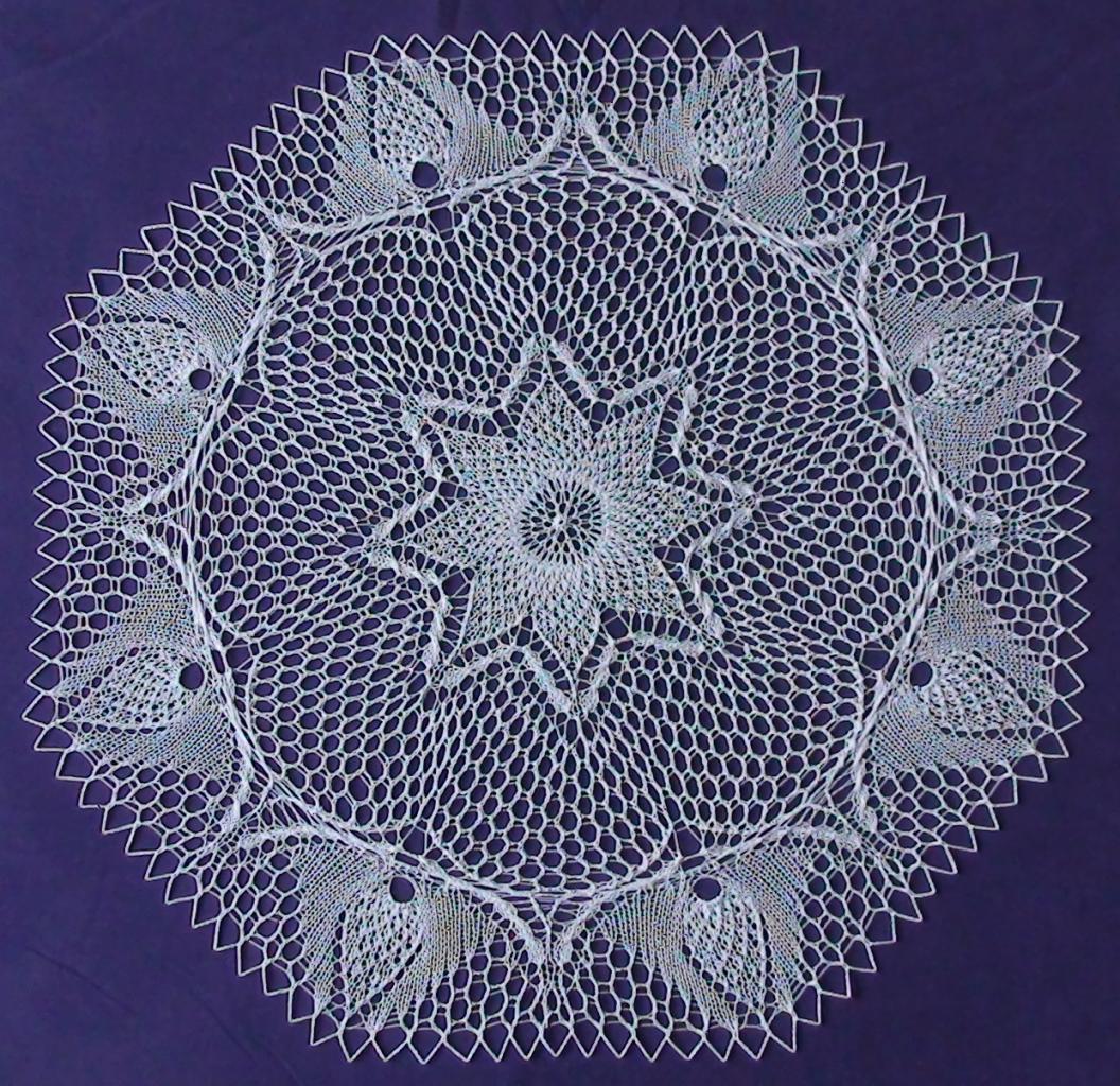 mod232le napperon tricot art