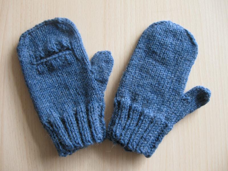 Patron mitaines moufles tricot - Tricoter des mitaines facile ...