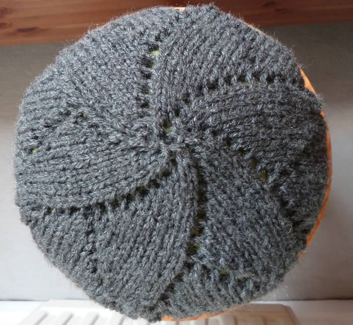 modele beret tricot