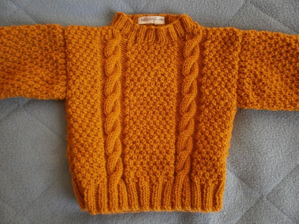 modèle tricot pull 9 mois