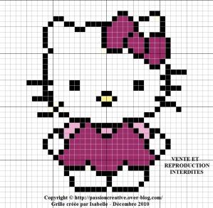 modèle tricot kitty