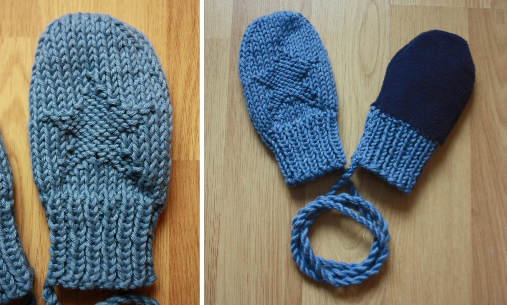 Mod le tricot moufles b b - Cote 2 2 tricot ...