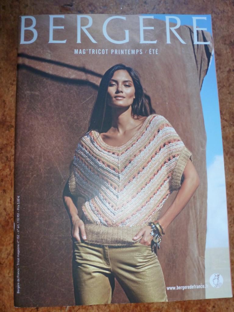 modèle tricot ete bergere de france
