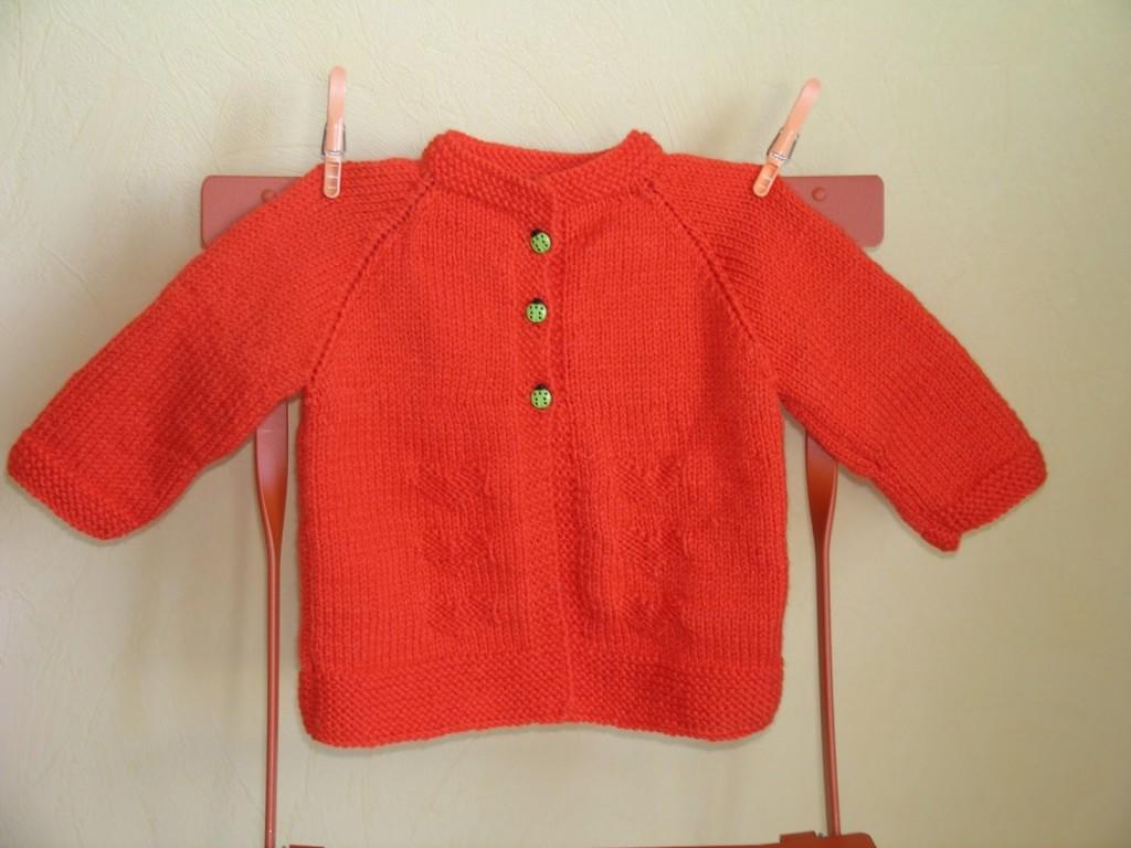 Mod le tricot fille 2 ans gratuit - Cote 2 2 tricot ...
