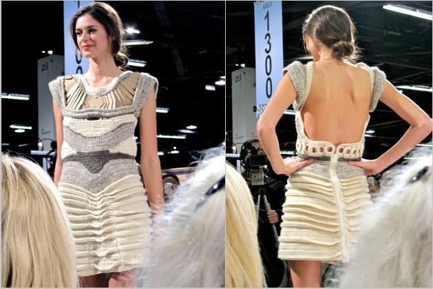 modèle tricot haute couture