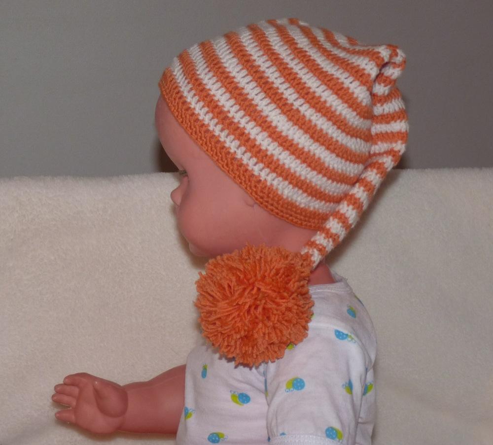 modele bonnet lutin bebe