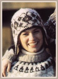 modèle tricot veste peruvienne