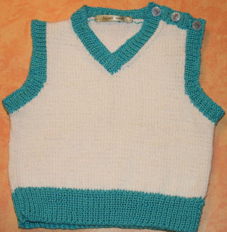 Patron tricot debardeur bebe - Modele tricot bebe gratuit debutant ...