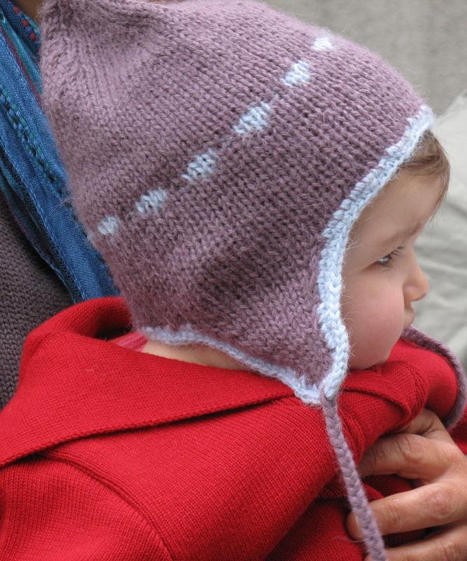 Modèle De Bonnet à Tricoter Pour Bébé fc768f7f87a