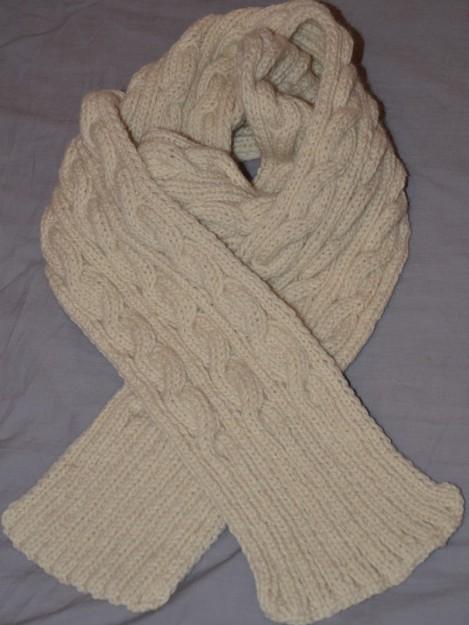 Mod le tricot echarpe laine homme - Tricoter une echarpe homme ...